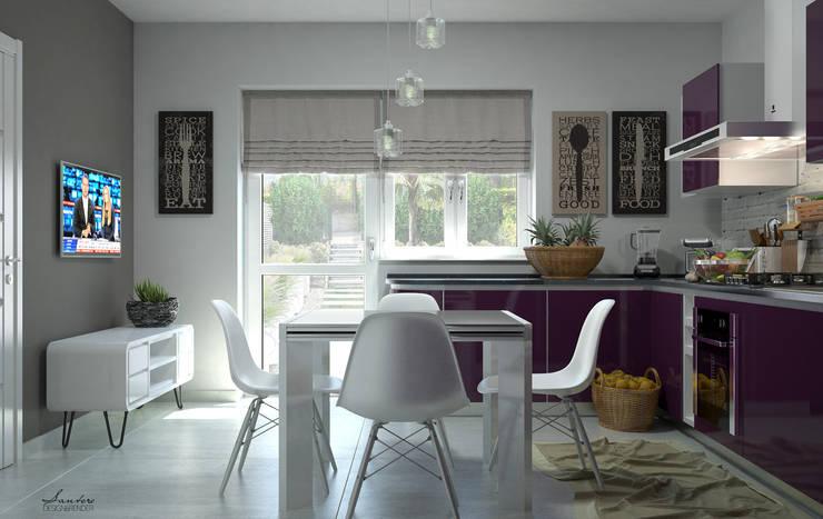 Cocinas de estilo  por Santoro Design Render