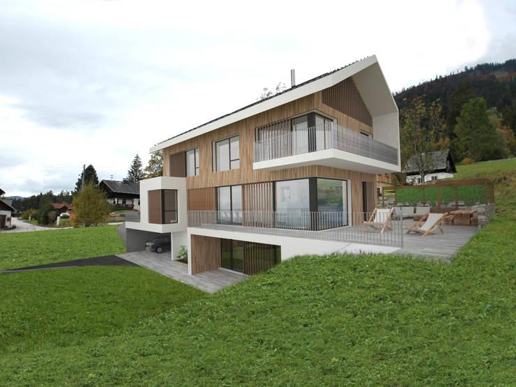 HAUS SLB:  Häuser von AL ARCHITEKT - Architekten in Wien