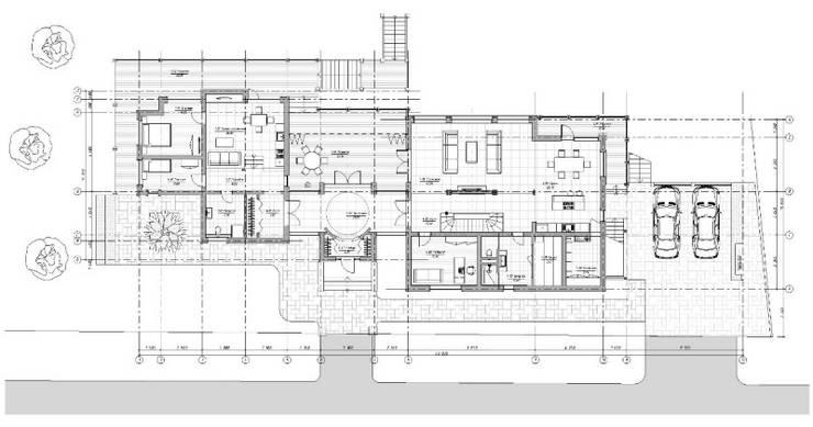 ЗАГОРОДНЫЙ ДОМ У ВОДЫ: Дома в . Автор – META-architects архитектурная студия