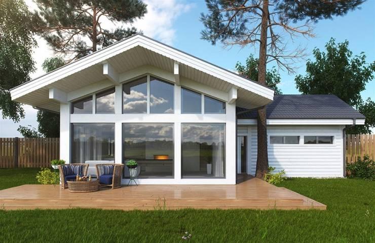 scandinavian Garage/shed by META-architects архитектурная студия