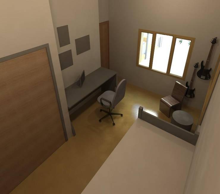 Dormitorio : Dormitorios infantiles de estilo  por Area61 Arquitectura