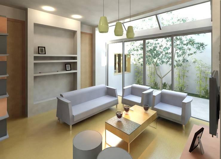 Mas imagenes de estar: Livings de estilo  por Area61 Arquitectura