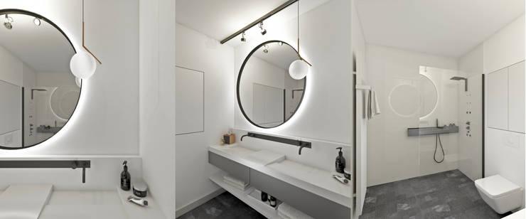 Baños de estilo minimalista por Marta Wypych   pracownia projektowa