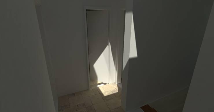 Anteproyecto Vivienda Suburbana: Dormitorios de estilo  por Oficina de Diseño y Arquitectura
