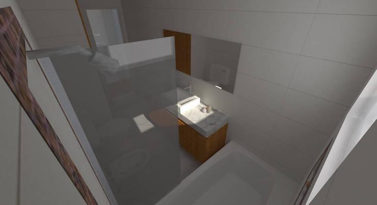 Proyecto Remodelación de Departamento: Baños de estilo  por Oficina de Diseño y Arquitectura,