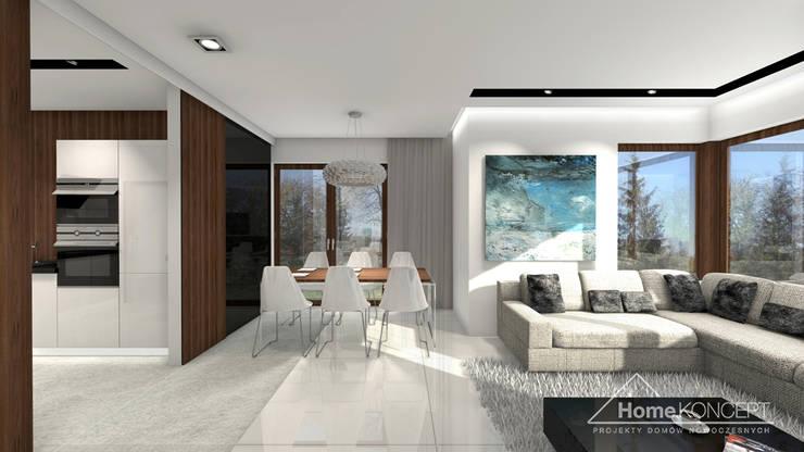 Dining room by HomeKONCEPT | Projekty Domów Nowoczesnych