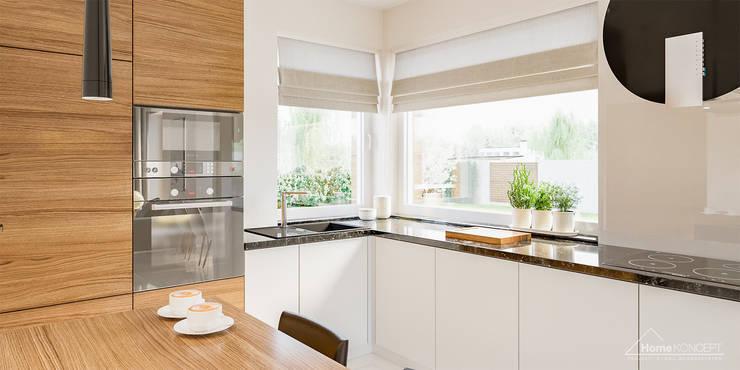 Кухни в . Автор – HomeKONCEPT | Projekty Domów Nowoczesnych