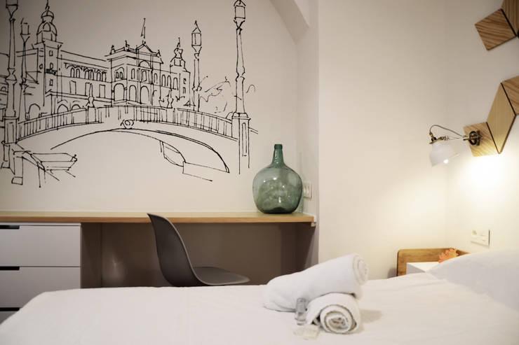 modern Bedroom by odea