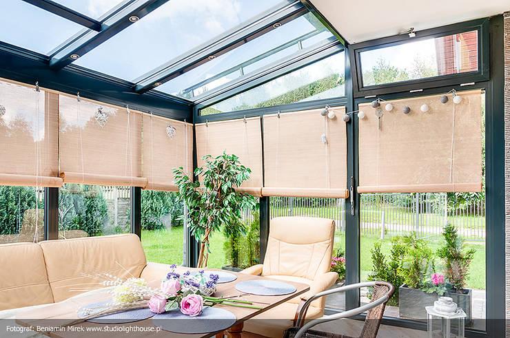 Conservatory by Biuro Projektów MTM Styl - domywstylu.pl