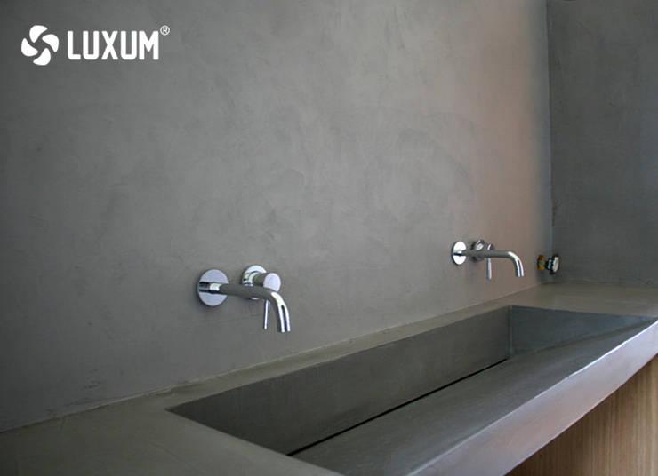 Umywalki Z Betonu Na Wymiar Profesjonalista Luxum Homify