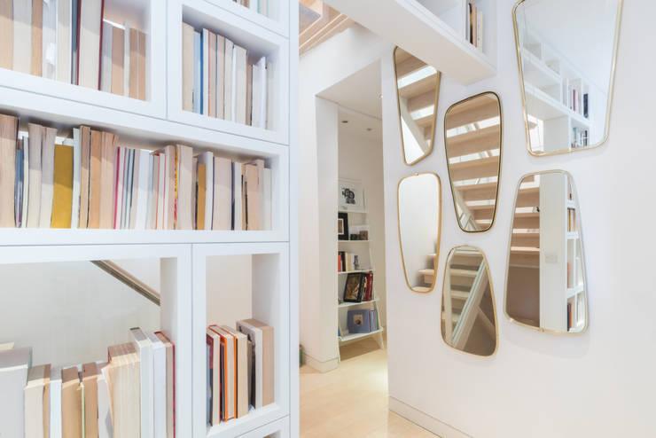 Kensington, SW5—Renovation Modern Corridor, Hallway and Staircase by TOTUS Modern