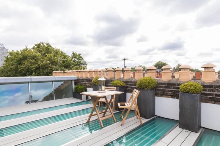 Kensington, SW5—Renovation Modern Terrace by TOTUS Modern