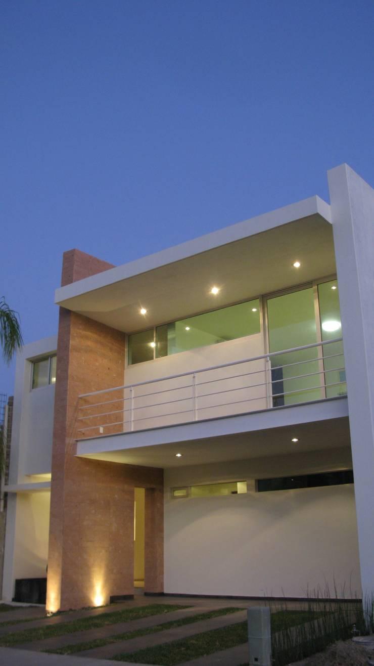 Casa ST: Casas de estilo  por Bojorquez Arquitectos SA de CV