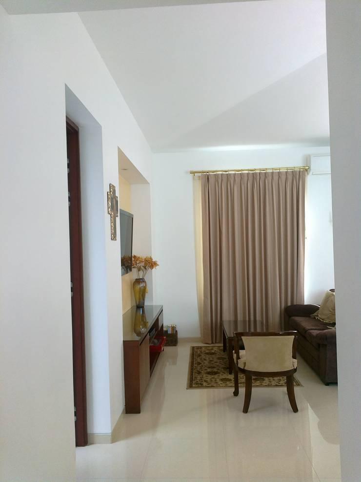 Habitación: Recámaras de estilo  por Bojorquez Arquitectos SA de CV