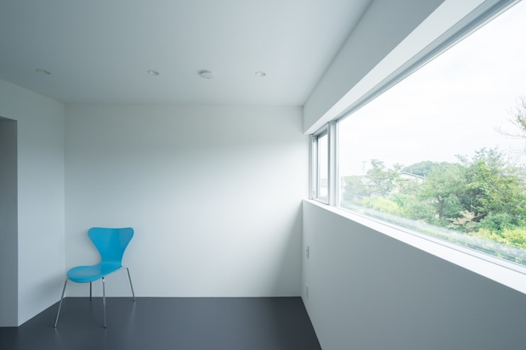 Projekty,  Sypialnia zaprojektowane przez Smart Running一級建築士事務所