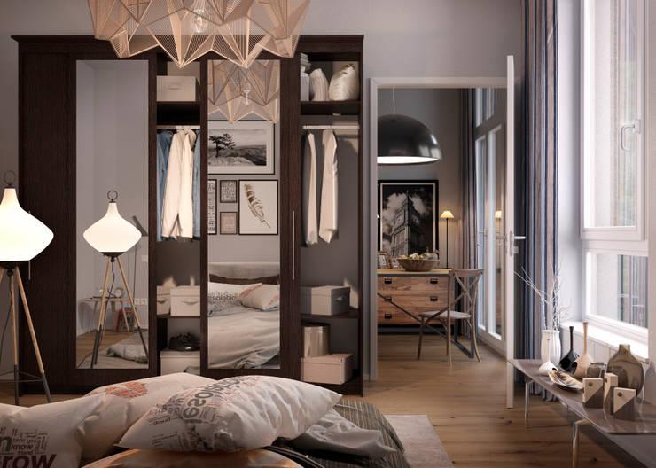 eclectic Bedroom by Дмитрий Каючкин