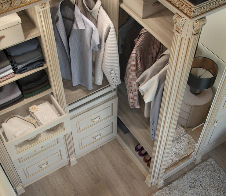wardrobe: Спальная комната  в . Автор – Дмитрий Каючкин