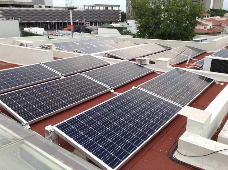 Proyecto de 5.94 kW en Zapopan de PROYENER