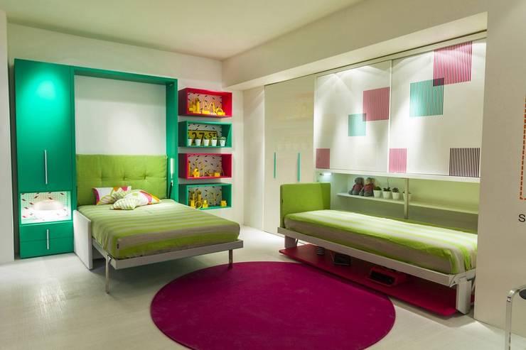 Mobili Salvaspazio Camera Da Letto : Letti salvaspazio e a scomparsa idee per camera da letto