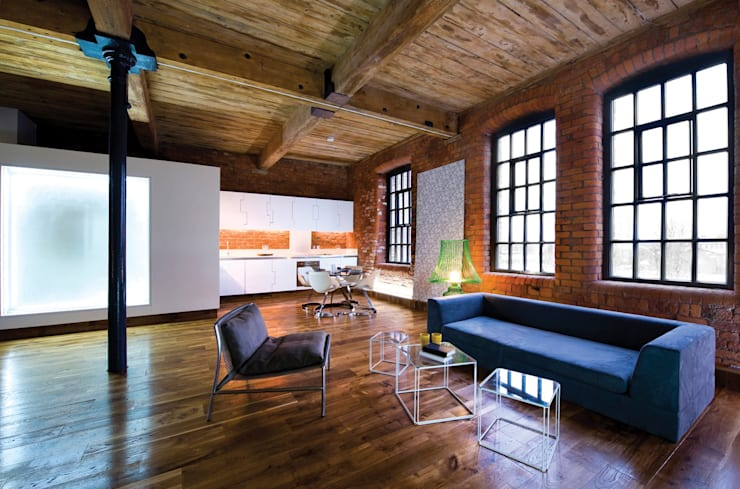 modern Living room by Studio Maurice Shapero