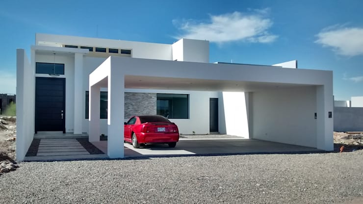 Casa Sonora: Casas de estilo  por Guiza Construcciones