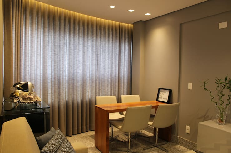 Living room by Ocapi Arquitetura