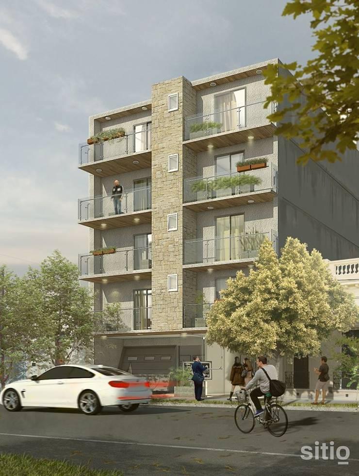 s i t i o / Soporte Visual / Edificio Catamarca / Ing ENCOR:  de estilo  por Sitio