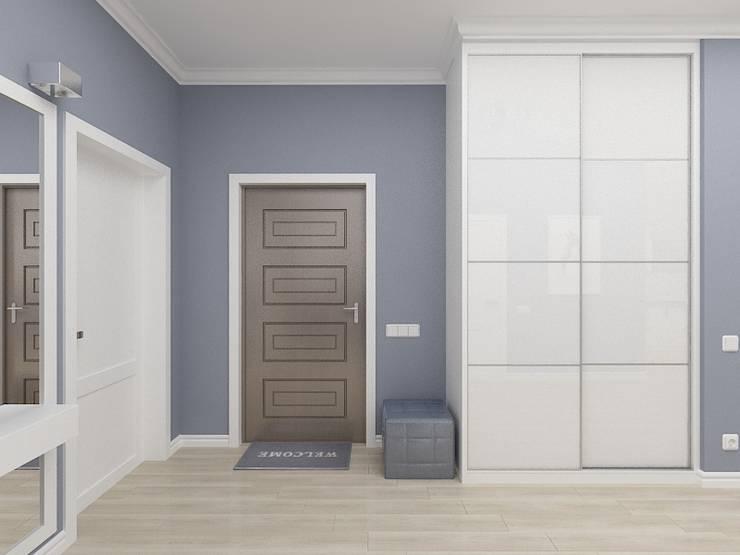 Corridor & hallway by Дизайн студия Марины Геба