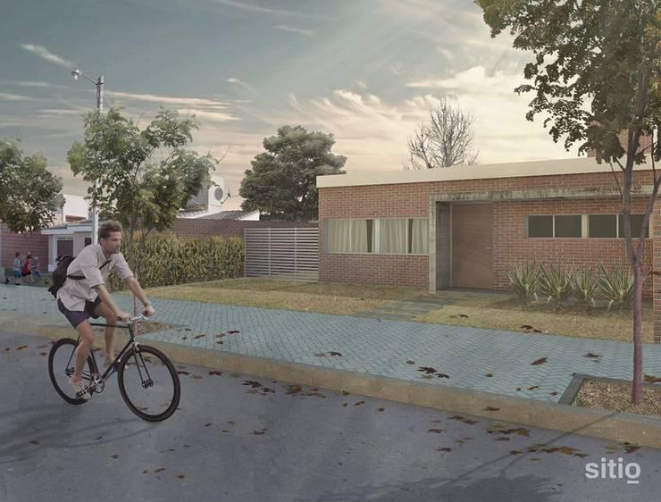 s i t i o / arquitectura / vivienda unifamiliar / Casa Volta: Casas de estilo  por Sitio