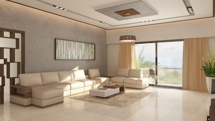 Family Room Seating:   by Ghar360