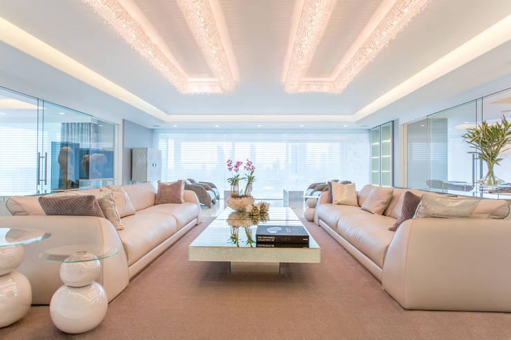 Living room تنفيذ Manooi