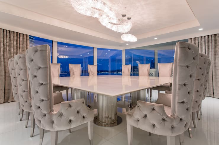 Dining room تنفيذ Manooi