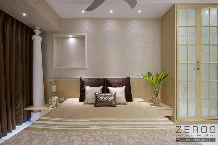 home: asian Bedroom by ZERO9