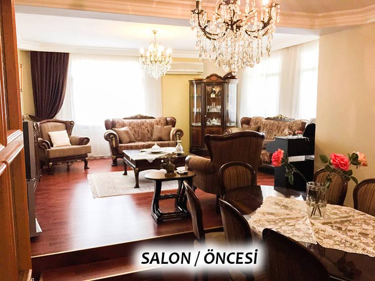 غرفة السفرة تنفيذ TEKNİK SANAT MİMARLIK LTD. ŞTİ.