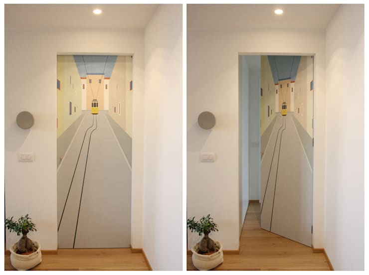 studio ferlazzo natoliが手掛けた廊下 & 玄関