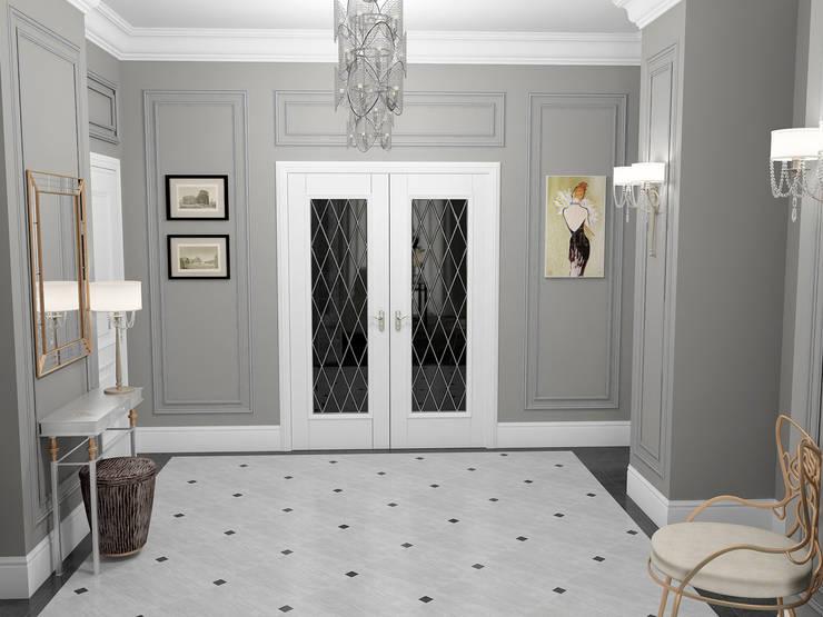Corridor & hallway by Проектное бюро O.Diordi
