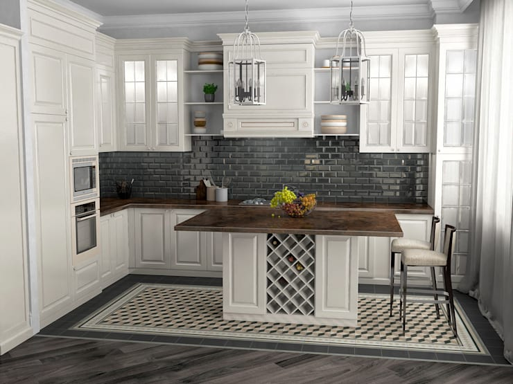 Kitchen by Проектное бюро O.Diordi
