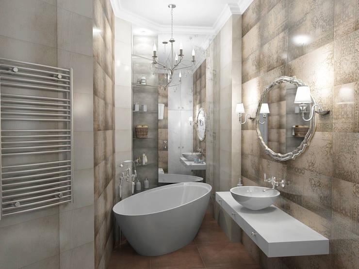 Bathroom by Проектное бюро O.Diordi