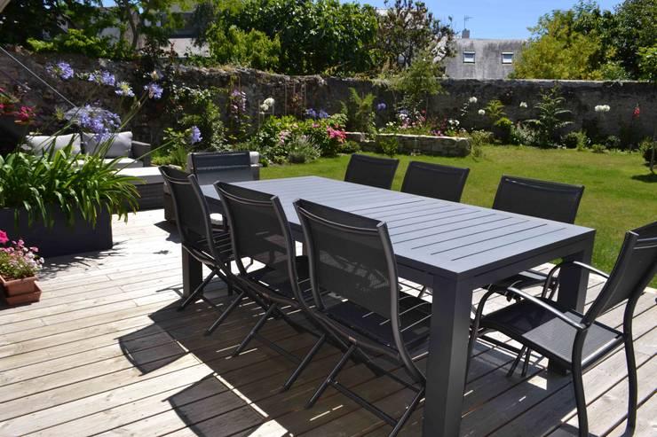 Projekty,  Ogród zaprojektowane przez Courants Libres