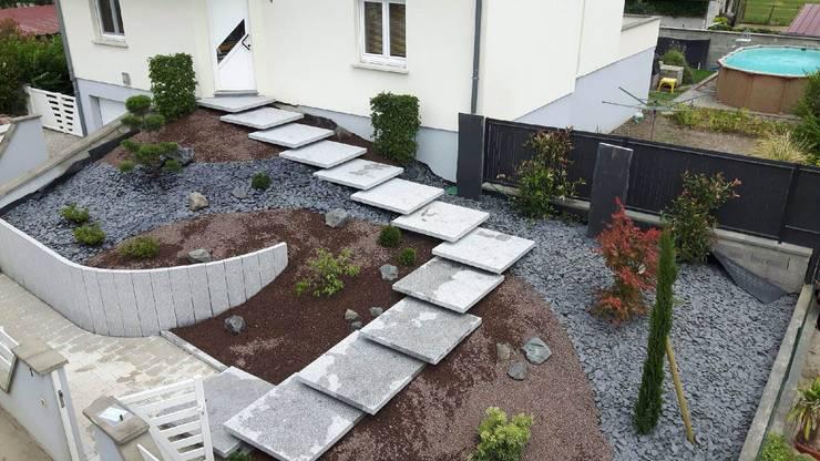 Escaliers Maisons modernes par Schwein Aménagement Moderne