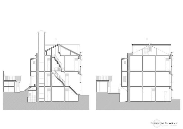 Edifício nas Escadinhas Damasceno Monteiro, em Lisboa:   por Esfera de Imagens Lda