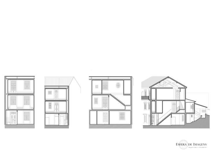 Edifício na Rua Luís de Camões, em Vila Nova de Gaia:   por Esfera de Imagens Lda