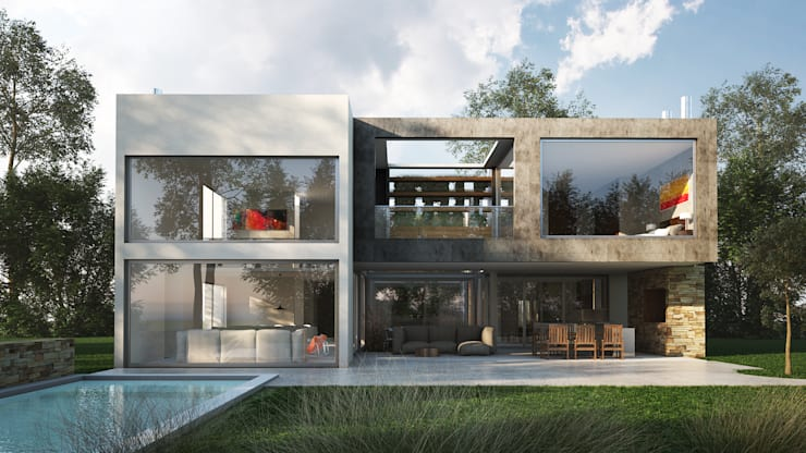 房子 by Estudio Medan Arquitectos