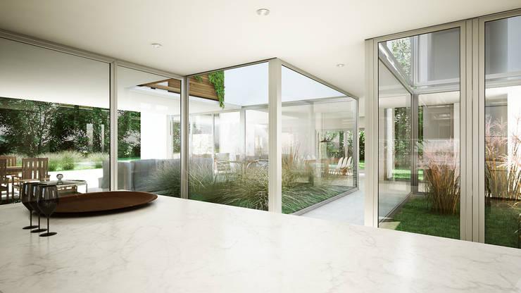 Kitchen by Estudio Medan Arquitectos