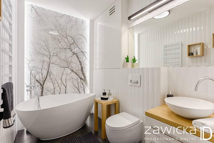 حمام تنفيذ ZAWICKA-ID Projektowanie wnętrz
