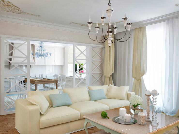 classic Living room by Архитектура Интерьера