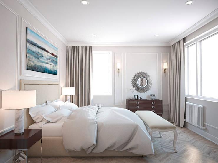 classic Bedroom by Архитектура Интерьера