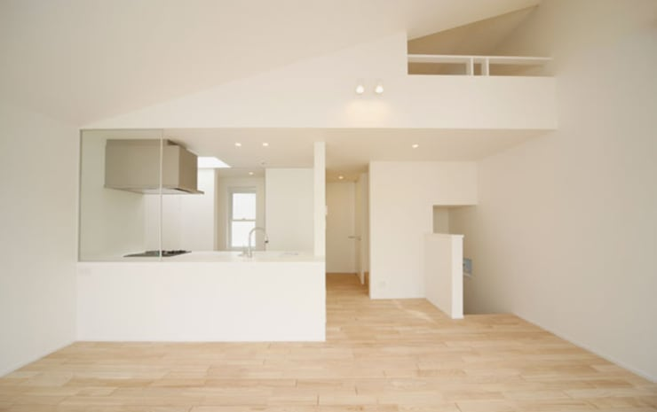 Kitchen by 株式会社Fit建築設計事務所, Modern Wood Wood effect