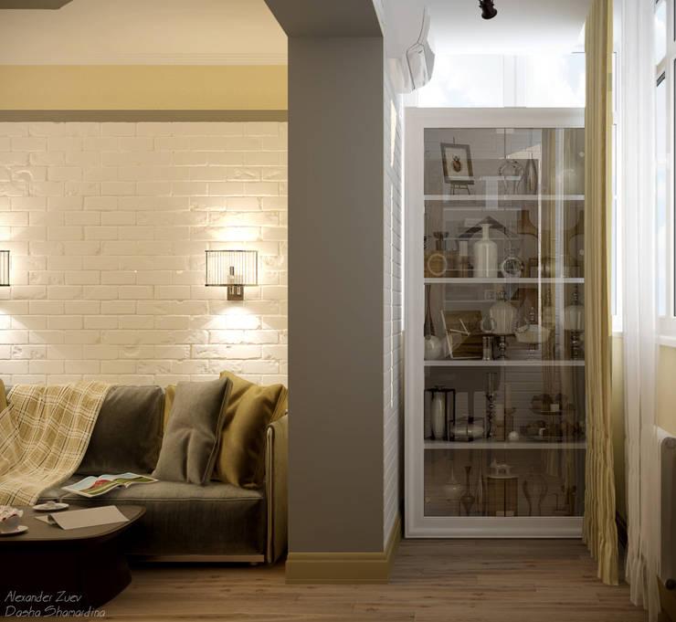 Patios & Decks by Студия интерьерного дизайна happy.design