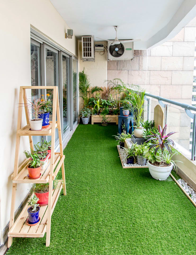 After! A green corner and a fountain.:   by Studio Earthbox